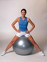 gymnastický míč 3
