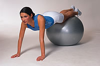 gymnastický míč 9