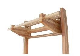 Hrazda dřevo
