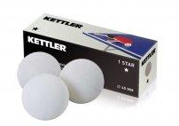 KETTLER míčky na stolní tenis 1 STAR