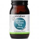 VIRIDIAN Organic Green Tea 500 mg 90 kapslí