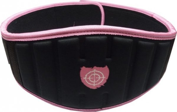 PS-3210 Womens Power pink Neoprene belt 2014.jpg