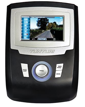 Tunturi Platinum Pro Crosstrainer počítač
