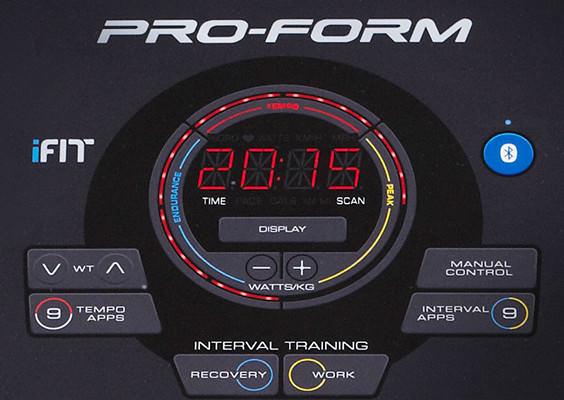 ProForm Performance 410i počítač