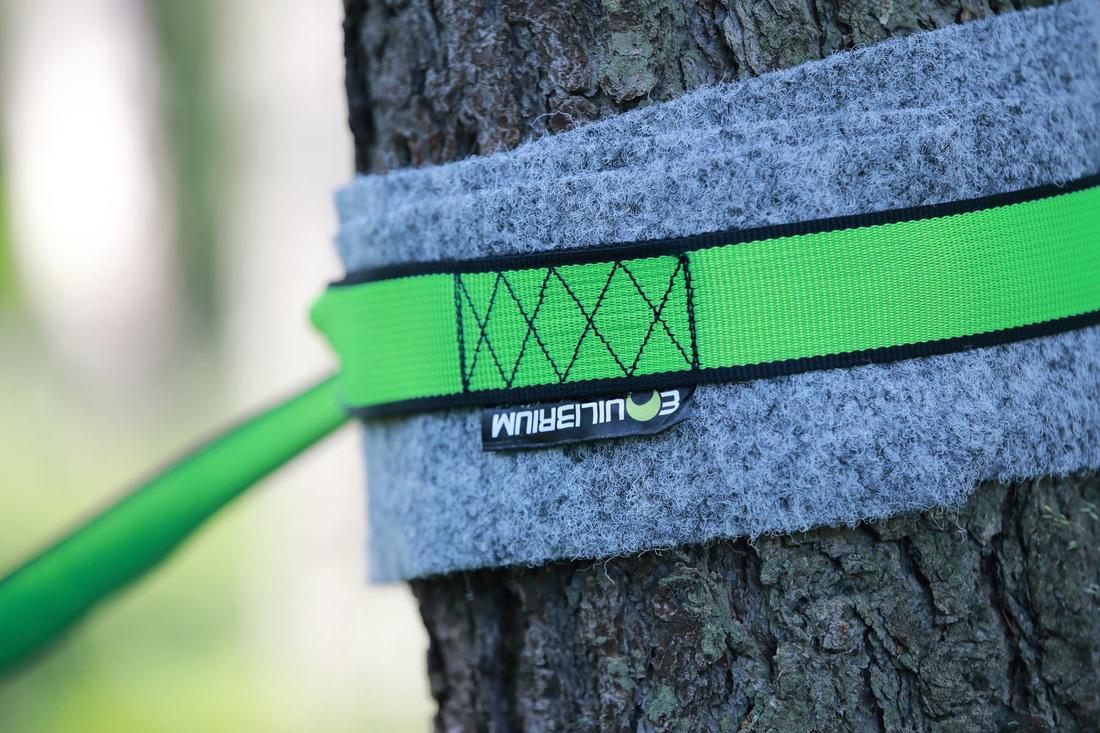 Equilibrium Slack Line treepad