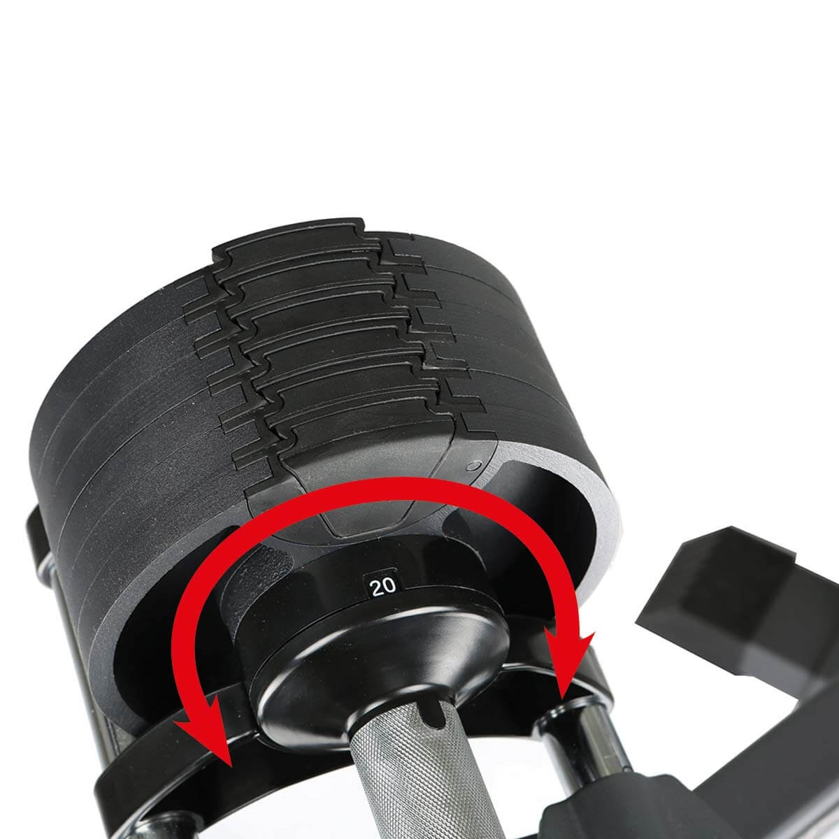 FINNLO Smartlock Hantel-Set nastavitelná zátěž_2