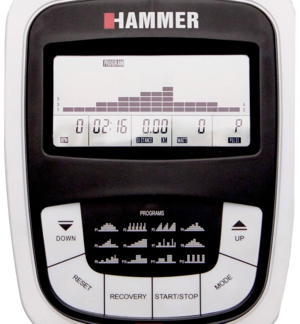 HAMMER Cardio XT5 - počítač