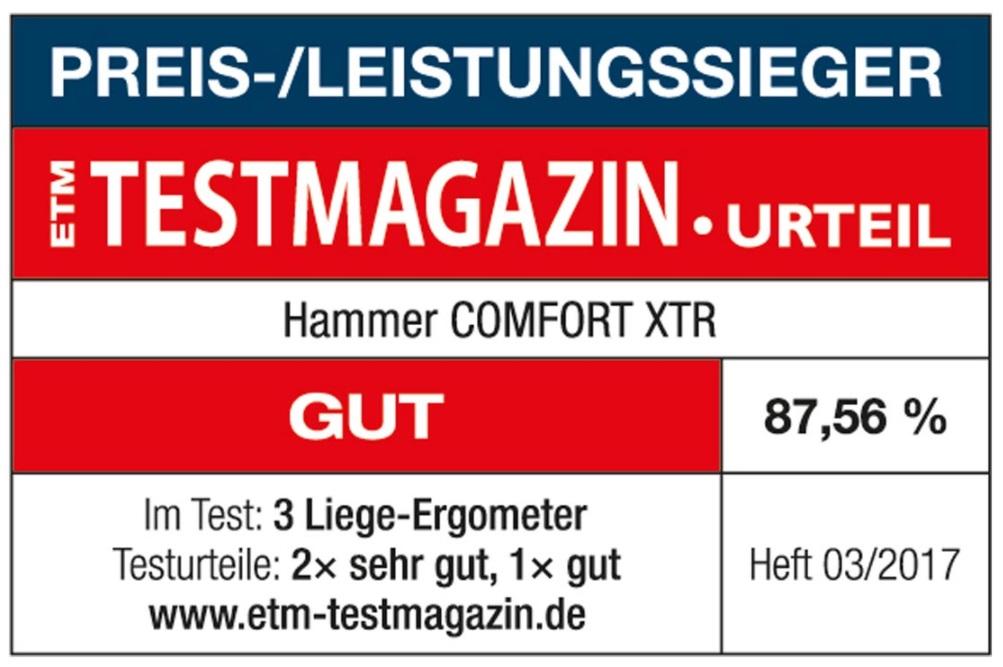 HAMMER Comfort XTR etiketa
