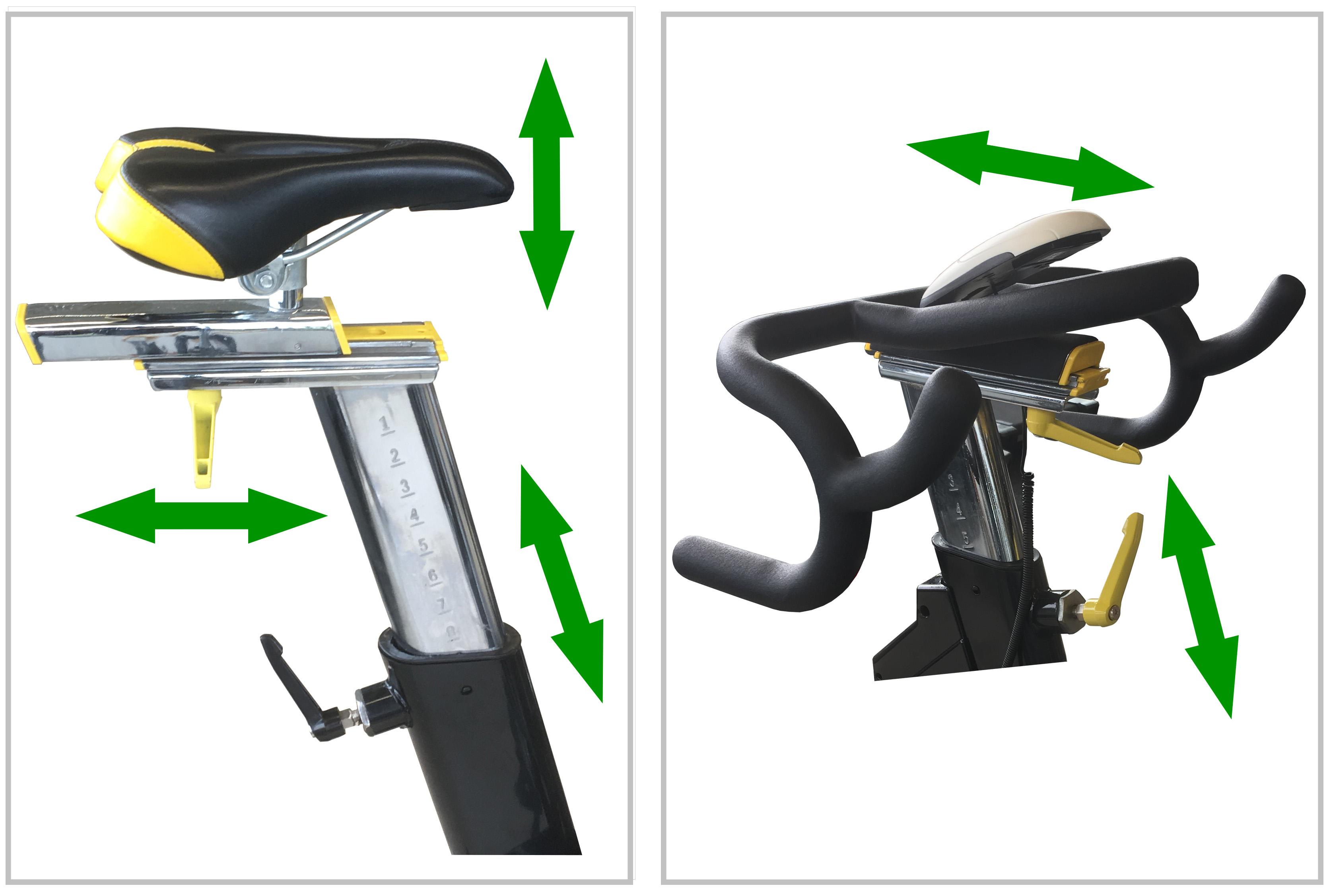 Housefit ASTRA nastavitelné sedlo a řídítka