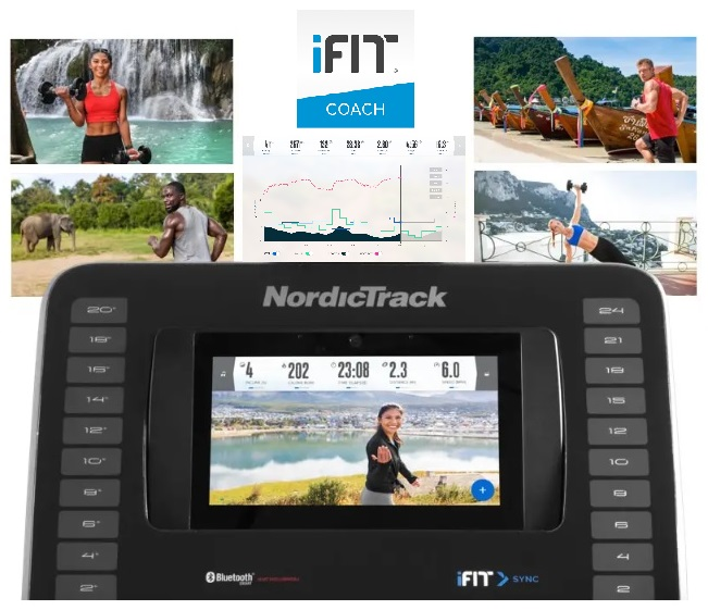 NORDICTRACK Commercial 12.9 ifit 1