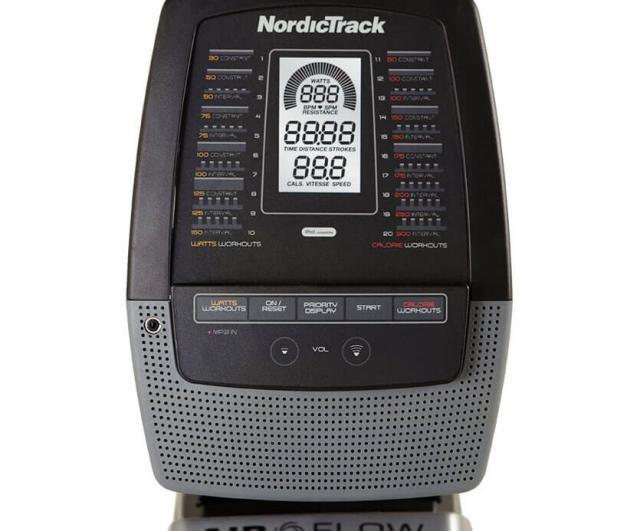 Nordictrack RX 800 počítač