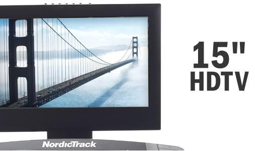 NORDICTRACK Elite 5000 LCD monitor