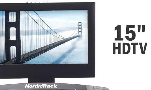 NORDICTRACK Elite 5000 monitor