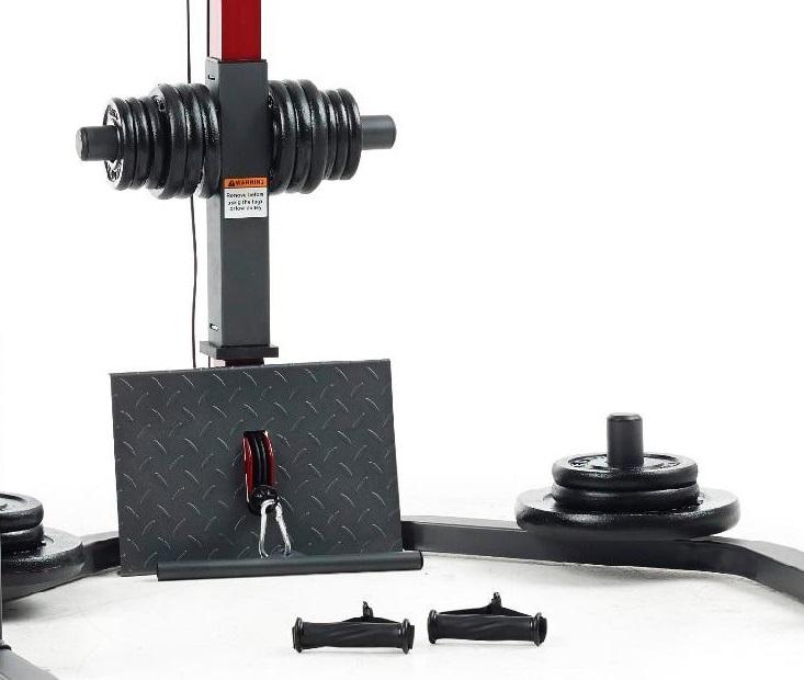 Weider Pro Power Rack detail