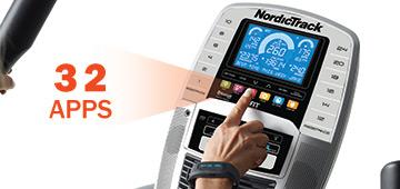 Nordictrack ACT Commercial tréninkové programy