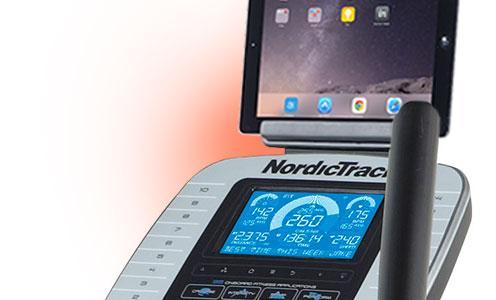 NordicTrack VXR475 držák tabletu