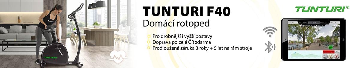 Domácí rotoped TUNTURI F40