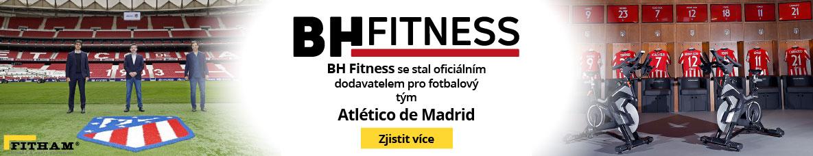 BH Fitness a Atlético de Madrid se spojily