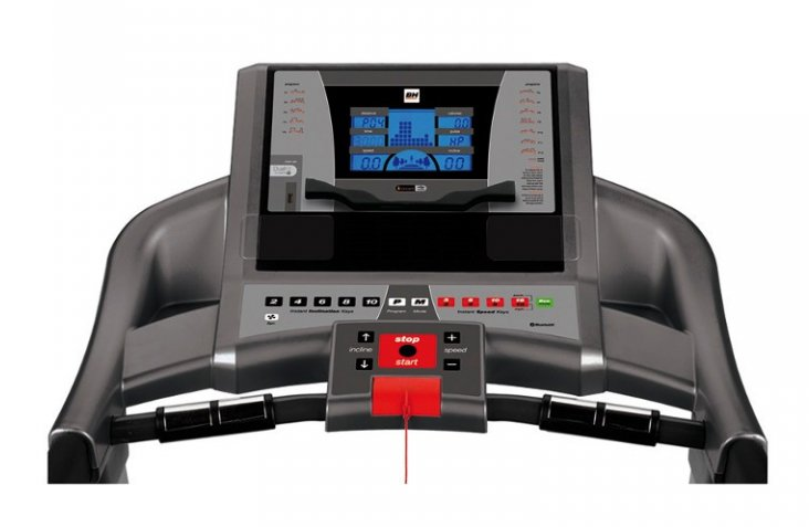 BH Fitness F2W DUALpočítač