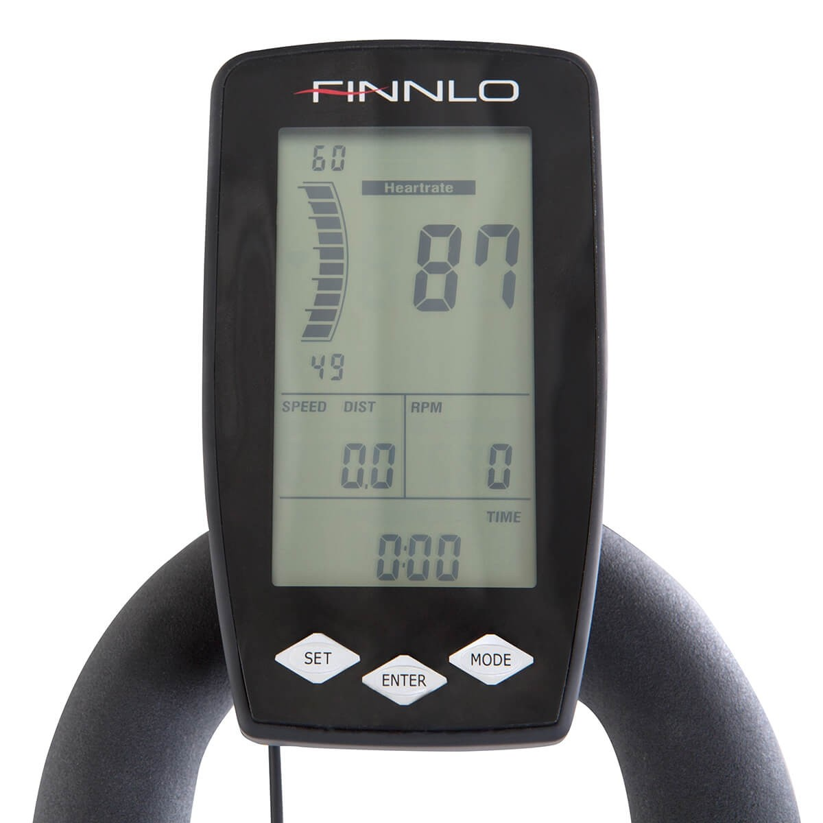 Cyklotrena hammer finnlo maximum speedbike pro lcd displej