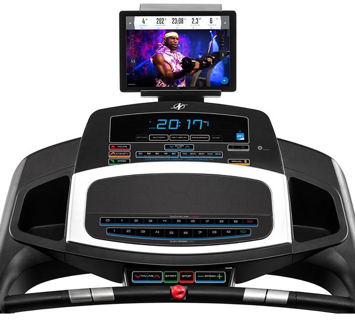 NordicTrack S25 LCD displej