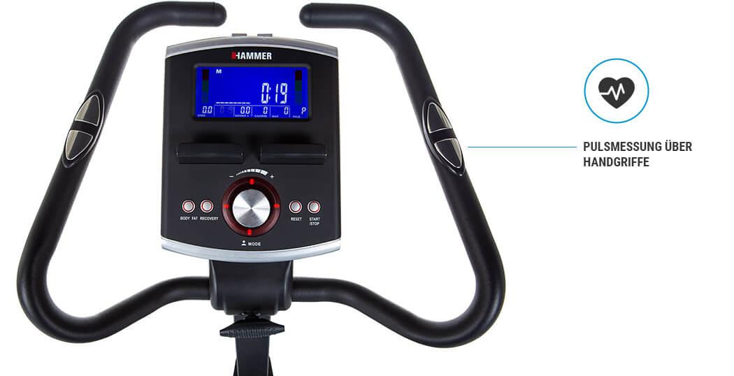Hammer Cardio Motion BT tepová frekvence