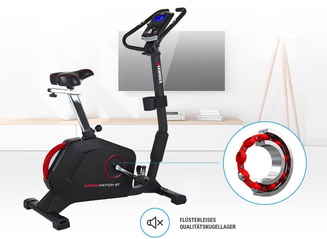 Hammer Cardio Motion BT tichý chod stroje