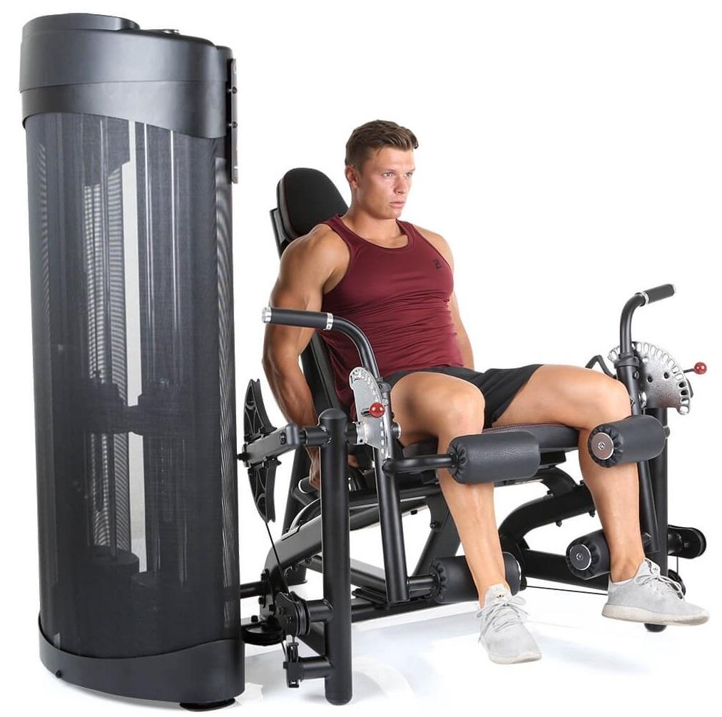 Finnlo MaximumDual Seated Leg Ext. / Curl profil