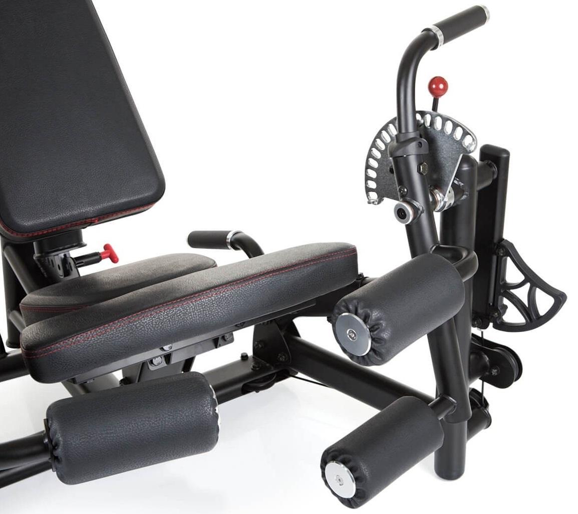 FinnloMaximumDual Seated Leg Ext. / Curl zádová opěrka