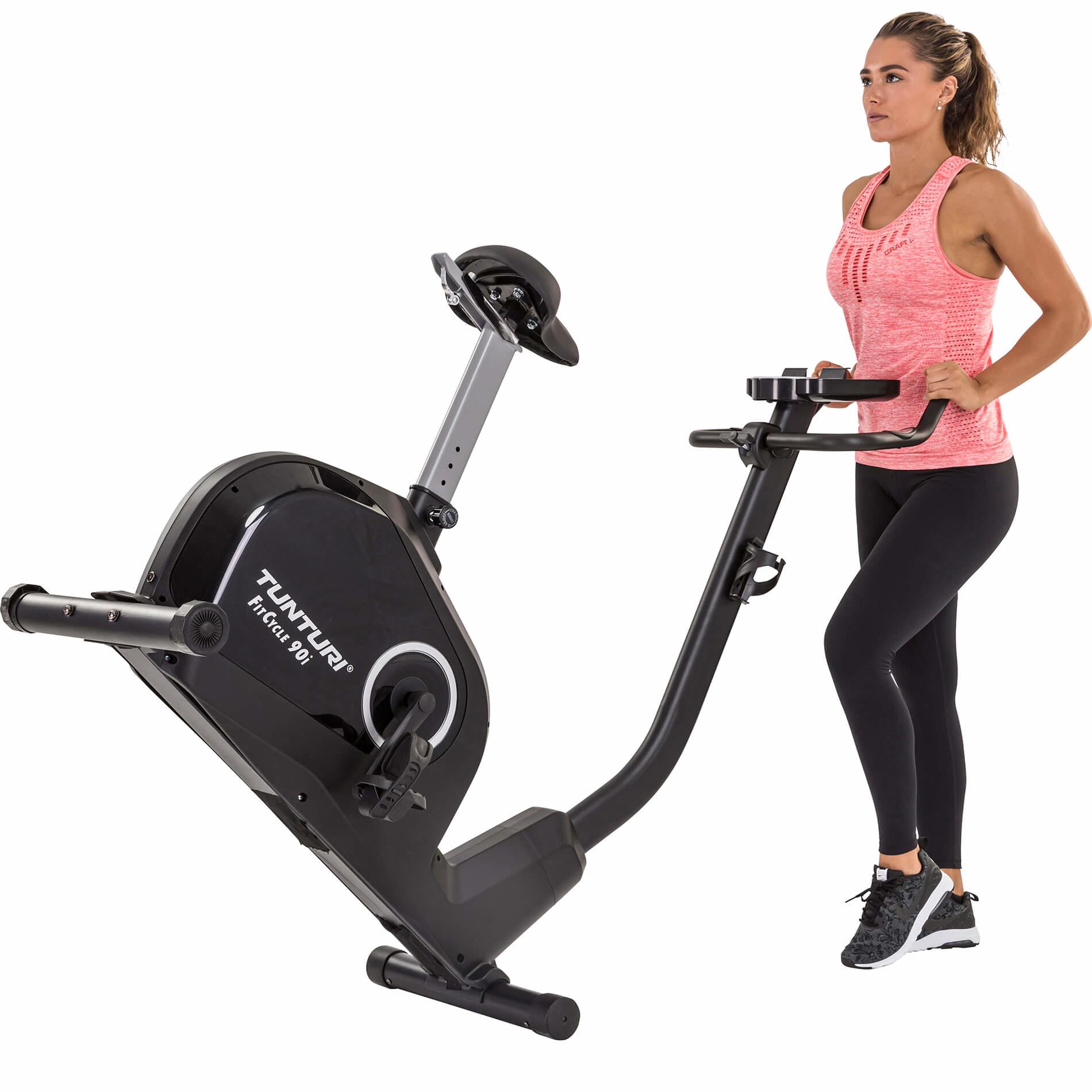 Tunturi Exercise Bike FitCycle 90i transport