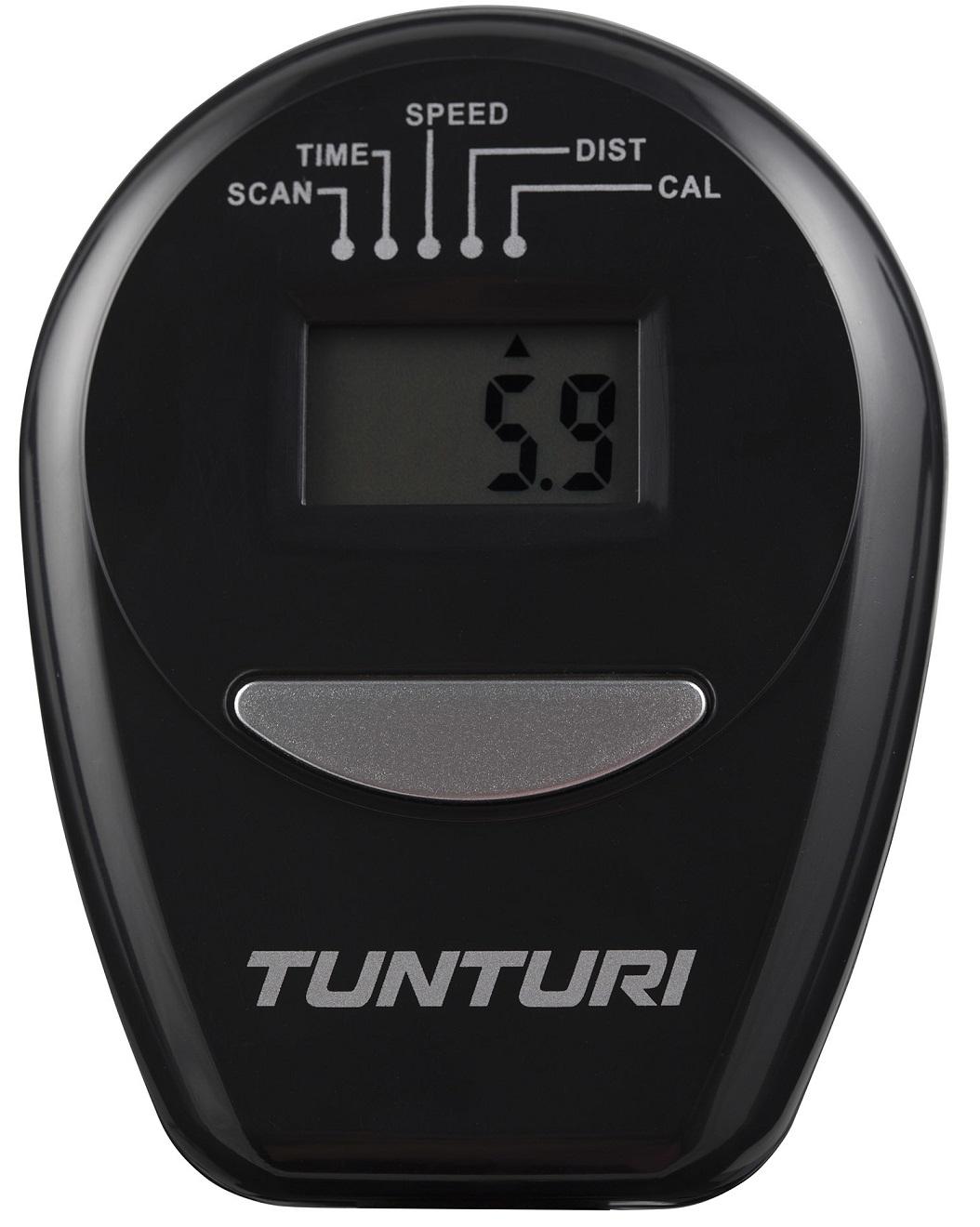 Cyklotrenažér Tunturi FitRace 30 počítač