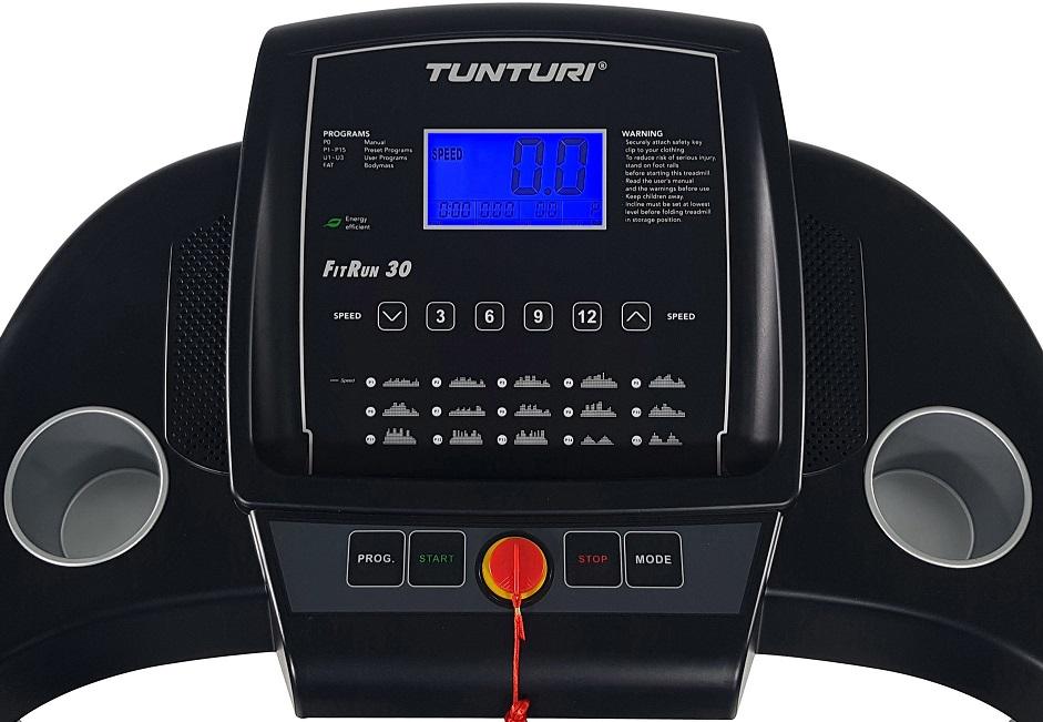 Běžecký pás Tunturi FitRun 30 počítač