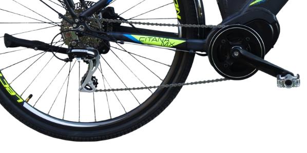 """LECTRON Citana MX 17"""" černá 2020 pohon"""