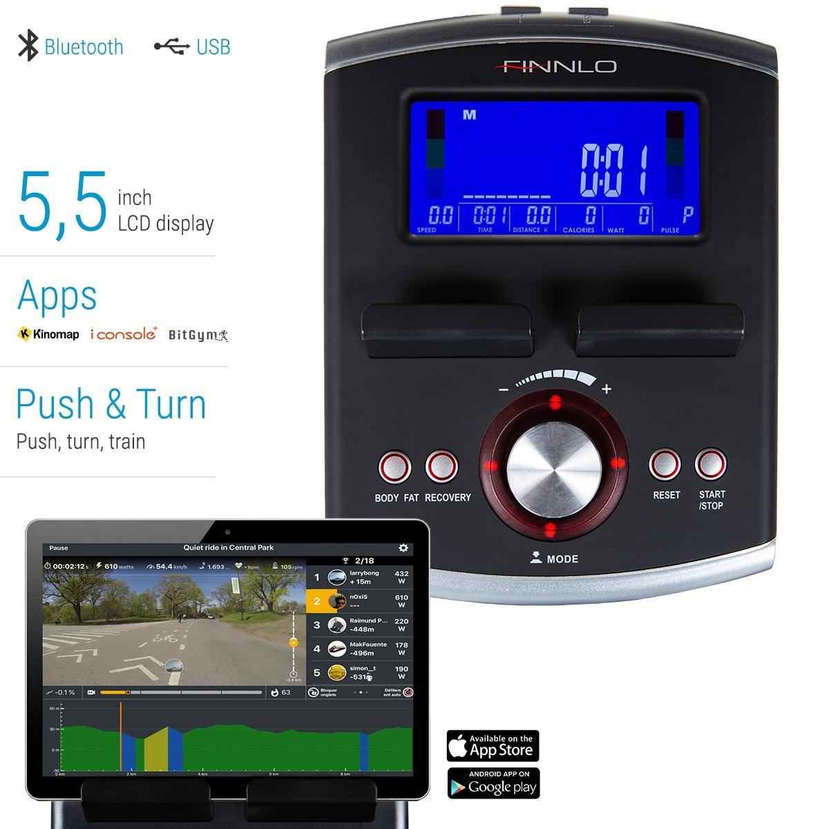 FinnloCleverFold CF70 BT aplikace