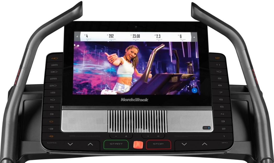 NordicTrack X22i Incline Trainer počítač