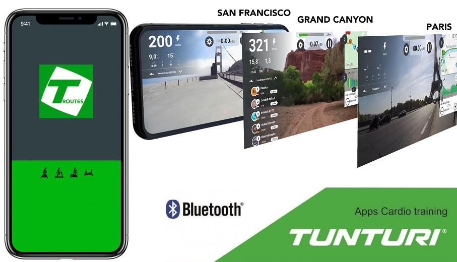 Aplikace Tunturi Routes