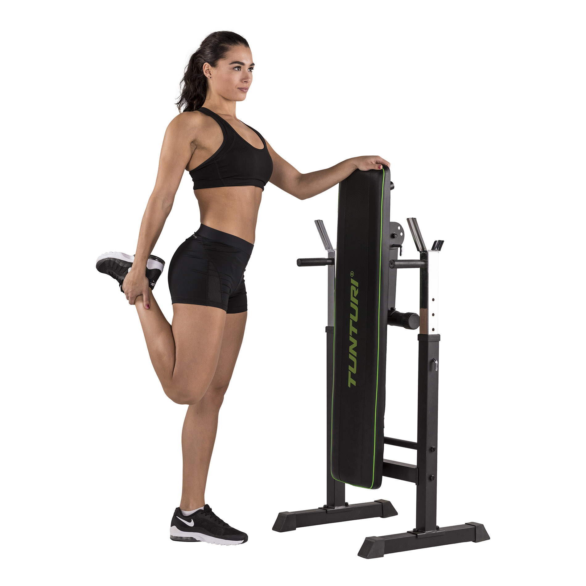 Tunturi WB20 Basic Weight Bench možnost složení
