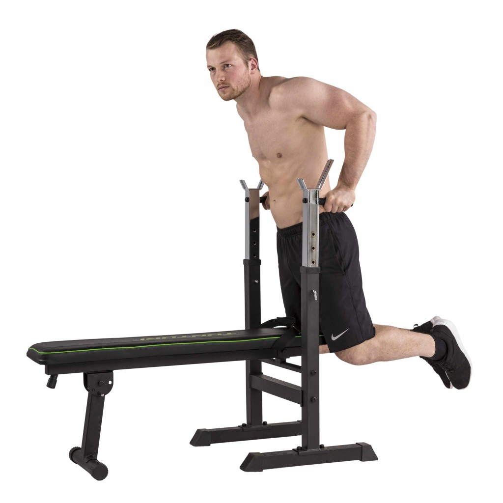 Tunturi WB20 Basic Weight Bench adaptéry na kliky