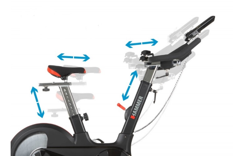Hammer Speed Racer S nastavitelné sedlo a řidítka