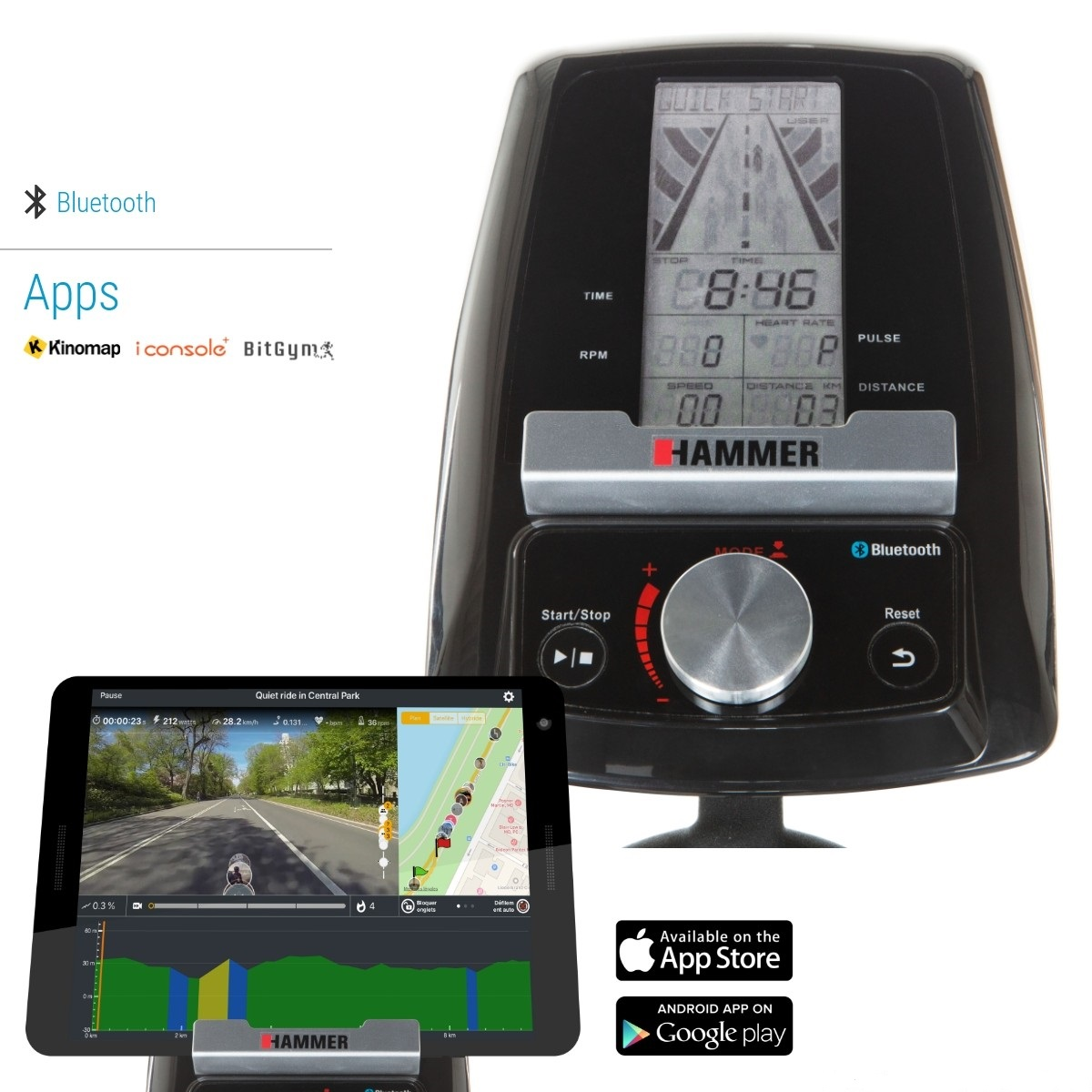 Hammer Speed Racer S počítač + app