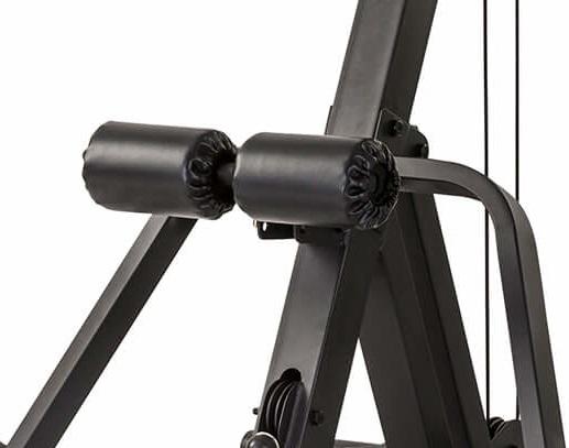 TunturiWT85 Leverage Pulley Gym válečky na nohy