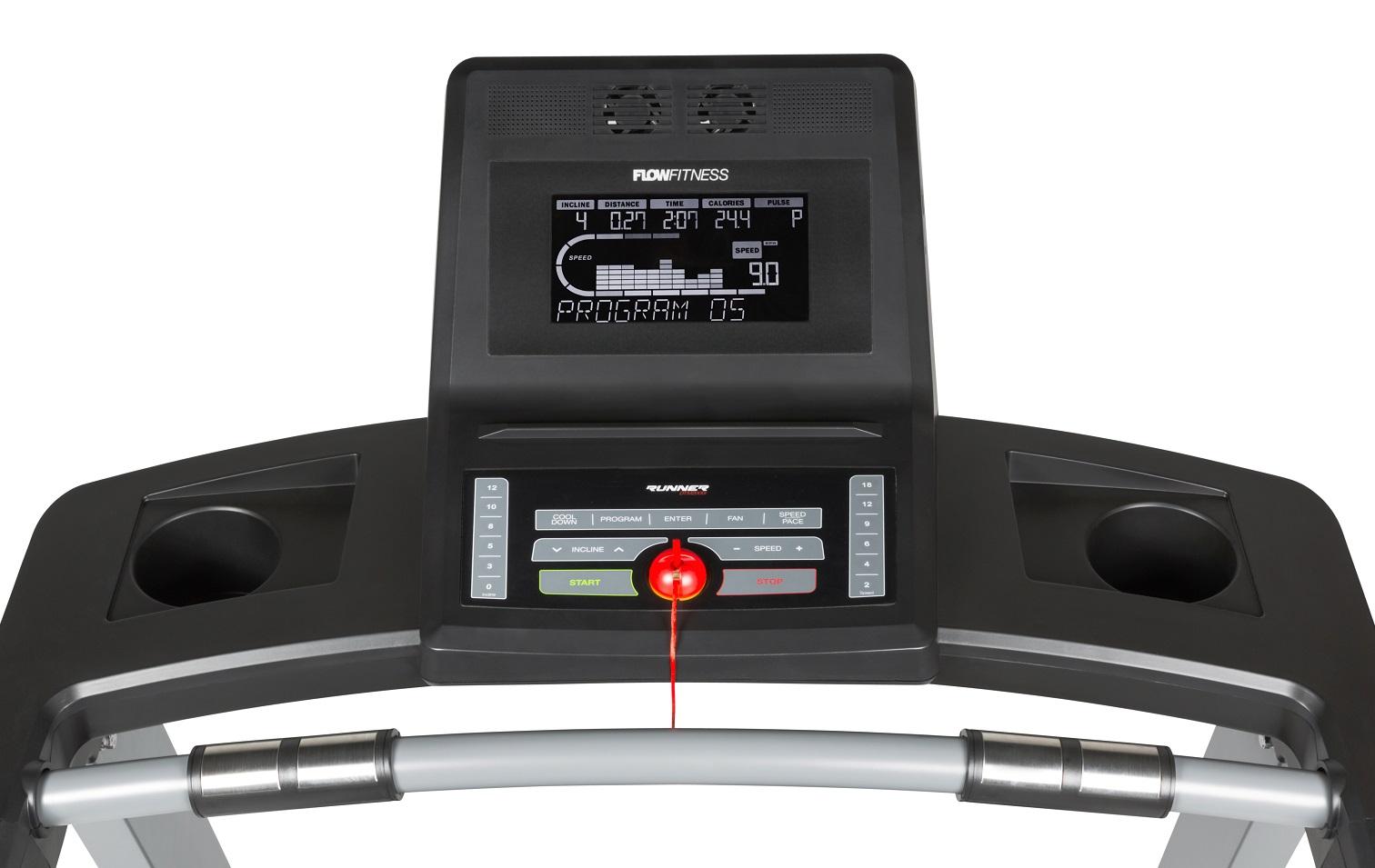 Flow Fitness DTM2000i počítač