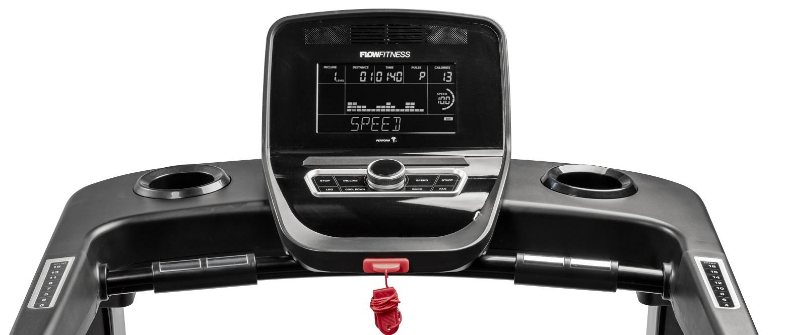 Flow Fitness T2i počítač