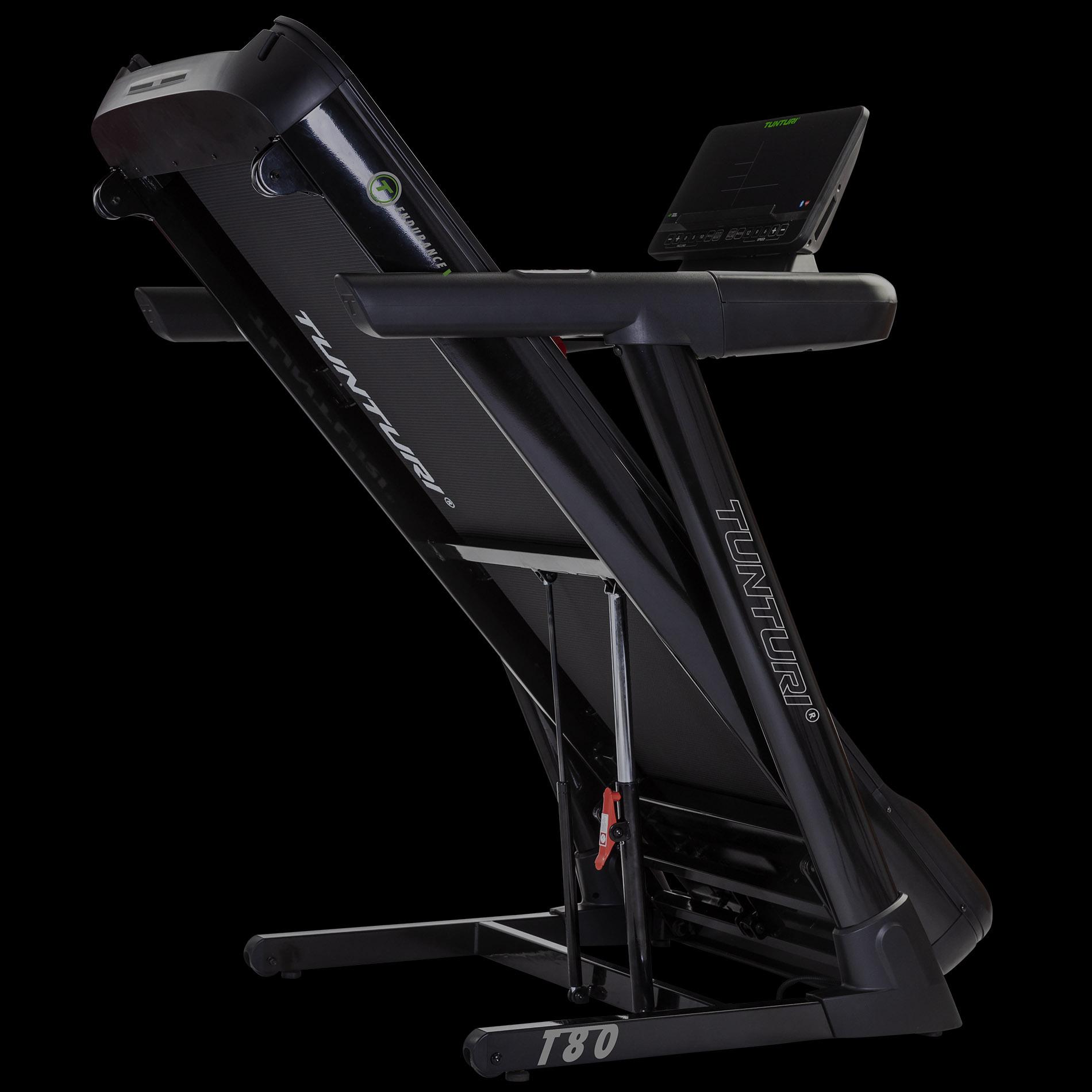 Tunturi T80 Endurance možnost složení