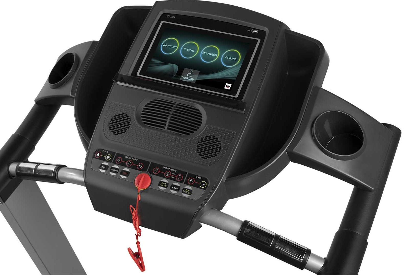 BH Fitness PIONEER R7 TFT počítač