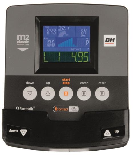 BH Fitness NLS12 DUAL počítač