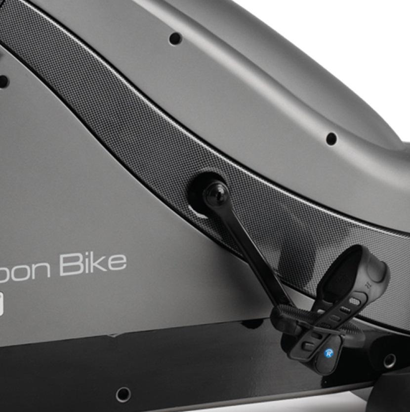 BH Fitness i.Carbon Bike DUAL šlapací střed