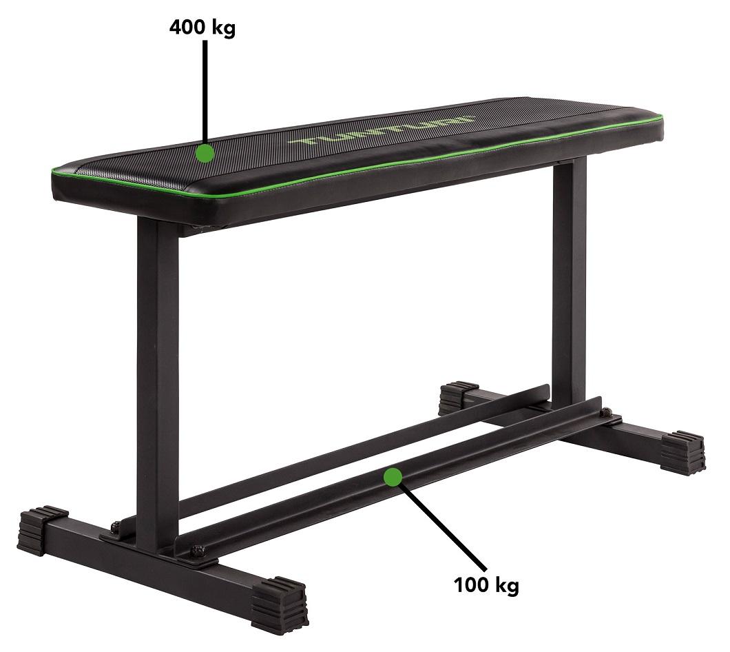 TUNTURI FB20 Flat Bench nosnost
