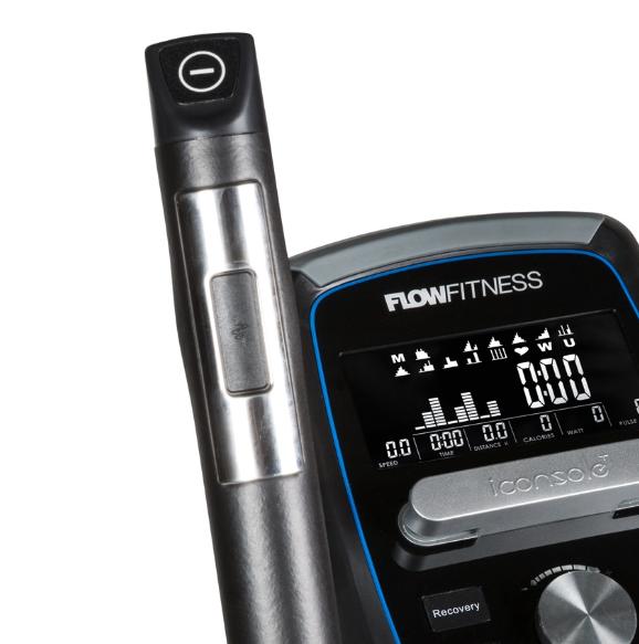 FLOW Fitness X2i  dlaňové snímače