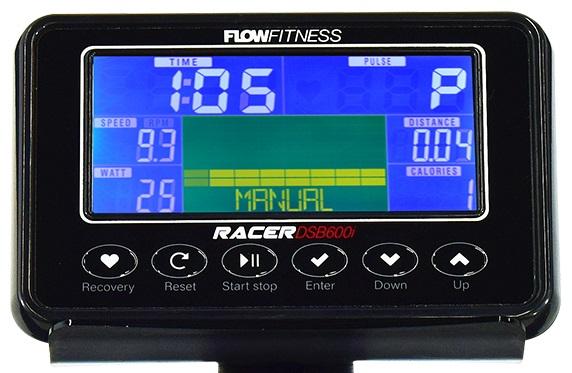 Flow Fitness DSB600i počítač
